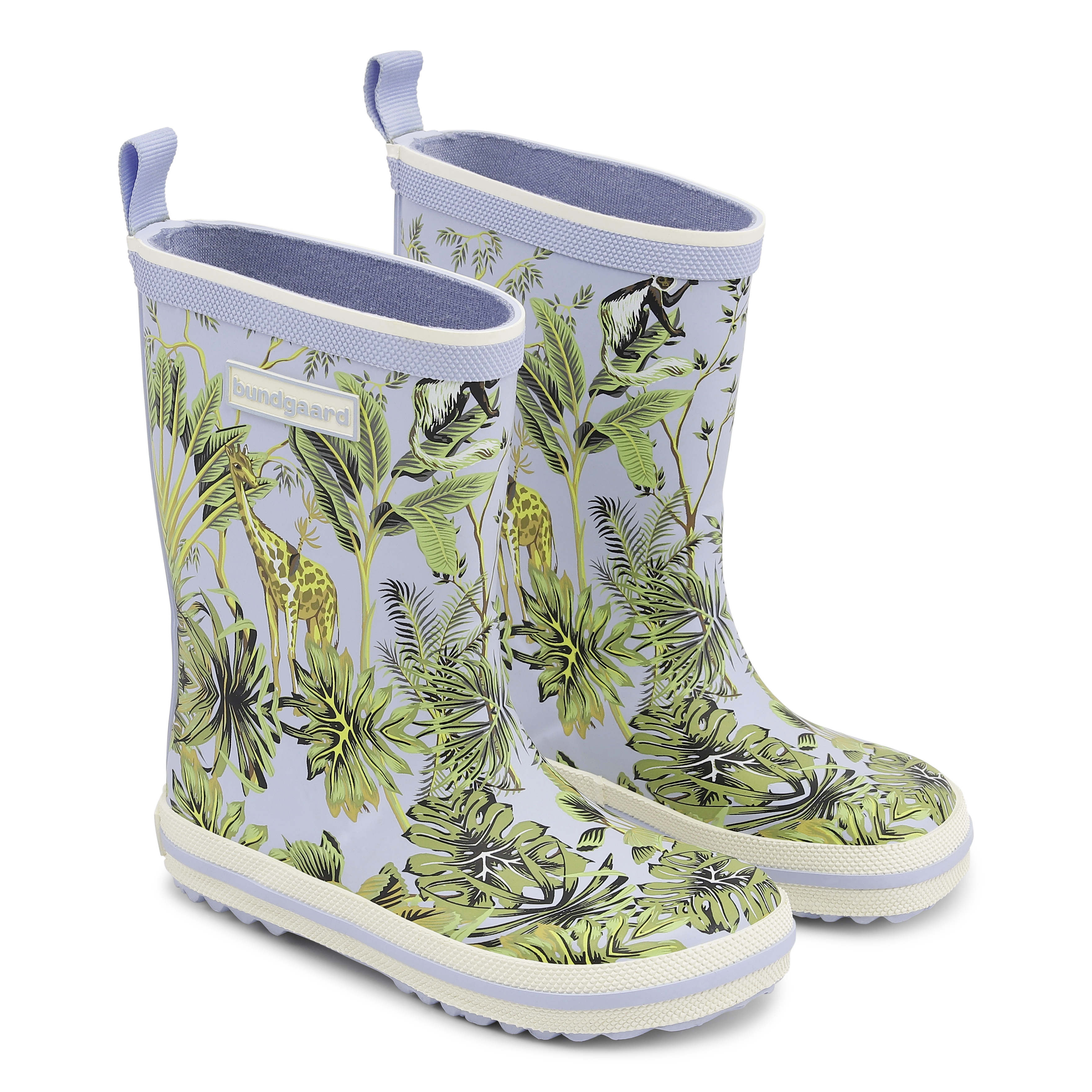 Bundgaard Classic Rubber Boots Tropical Forest
