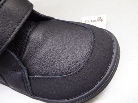 Baby Bare Shoes Febo Winter Black + Asfaltico