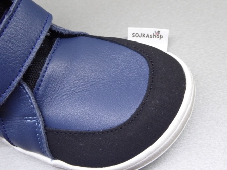 Baby Bare Shoes Febo Winter Navy + Asfaltico