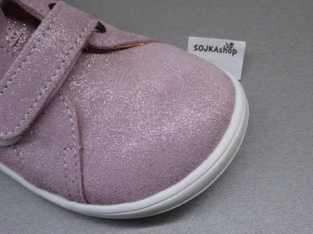 Baby Bare Shoes Febo Spring Sparkle Pink