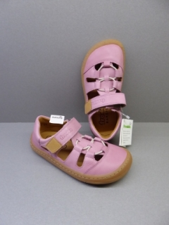 Froddo Barefoot Sandály s gumičkami Pink