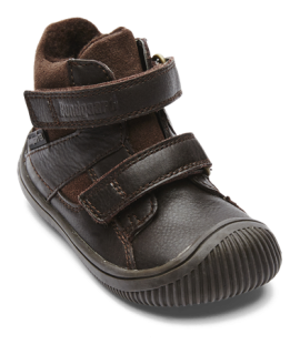 Bundgaard Walk TEX Dark Brown - suchý zip