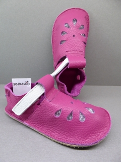 Baby Bare Shoes IO Front Perforation Waterlily