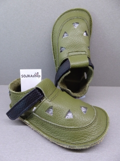Baby Bare Shoes IO Top Stitch Bosco