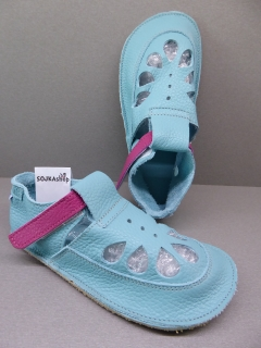 Baby Bare Shoes IO Summer Perforation Flower