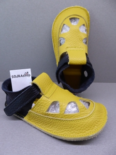 Baby Bare Shoes IO Summer Perforation Ananas