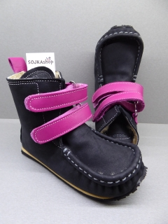 Zeazoo Yeti Black/Fuchsia Sheepskin Waterproof