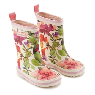 Bundgaard Classic Rubber Boots Flower Mix