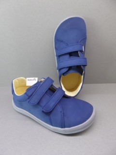 Baby Bare Shoes Febo Spring Navy Nubuk